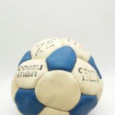 Coleccionismo deportivo: BALÓN DE FÚTBOL ZEUS COSIDO A MANO AÑOS 70 FABRICADO EN FRANCIA. Lote 118366591