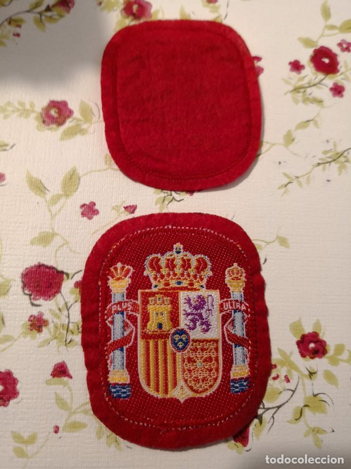 2 PARCHES TELA AÑOS 80/90 SELECCIÓN ESPAÑOLA (Coleccionismo Deportivo - Material Deportivo - Fútbol)