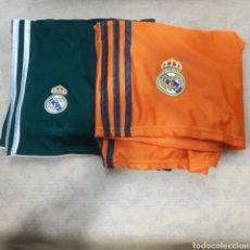 Coleccionismo deportivo: LOTE 2 PANTALONES REAL MADRID. Lote 119908067
