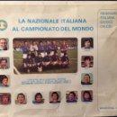 Coleccionismo deportivo: ARGENTINA 78. BANDERA, CORBATA Y POSTAL SELECCIÓN ITALIANA. Lote 121447046