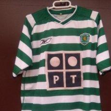 Coleccionismo deportivo: CAMISETA SPORTING PORTUGAL, T--M. Lote 122073643