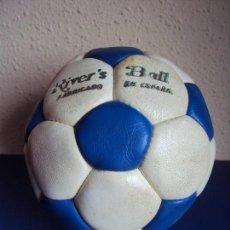 Coleccionismo deportivo: (F-180590)BALON RIVE´S BALL - FABRICADO EN ESPAÑA - AÑOS 70. Lote 122254455