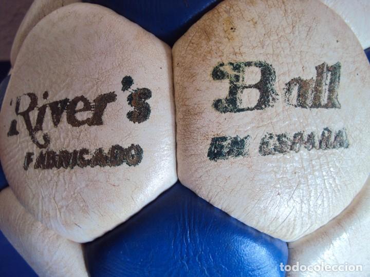 Coleccionismo deportivo: (F-180590)BALON RIVE´S BALL - FABRICADO EN ESPAÑA - AÑOS 70 - Foto 2 - 122254455
