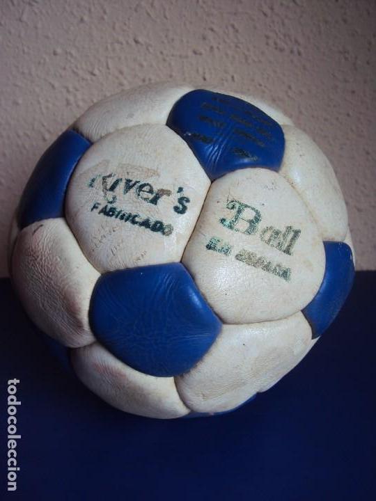 Coleccionismo deportivo: (F-180590)BALON RIVE´S BALL - FABRICADO EN ESPAÑA - AÑOS 70 - Foto 4 - 122254455