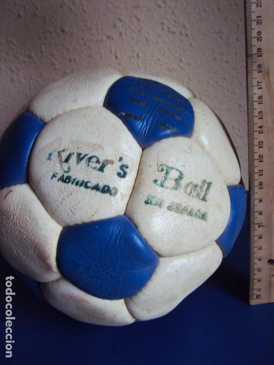 Coleccionismo deportivo: (F-180590)BALON RIVE´S BALL - FABRICADO EN ESPAÑA - AÑOS 70 - Foto 5 - 122254455