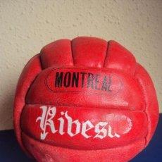 Coleccionismo deportivo: (F-180592)BALON RIBESA MONTREAL AÑOS 70 - 18 PANELES. Lote 122255103