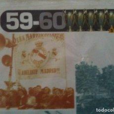 Coleccionismo deportivo: 5 COPA EUROPA-59-60-RELAL MADRID C.F.. Lote 122286075