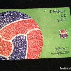 Coleccionismo deportivo: CAJA 2 CARNET ALBERTO MALUQUER HISTORIADOR DEL FUTBOL CLUB FC BARCELONA F.C BARÇA CF. Lote 122844263
