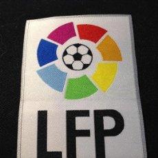 Coleccionismo deportivo: CAJA 2 PARCHE LFP NO DEL FUTBOL CLUB FC BARCELONA F.C BARÇA CF. Lote 122906103