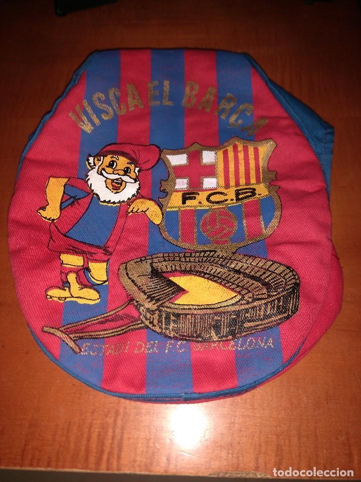 ANTIGUA GORRA BOINA DEL BARÇA (Coleccionismo Deportivo - Material Deportivo - Fútbol)