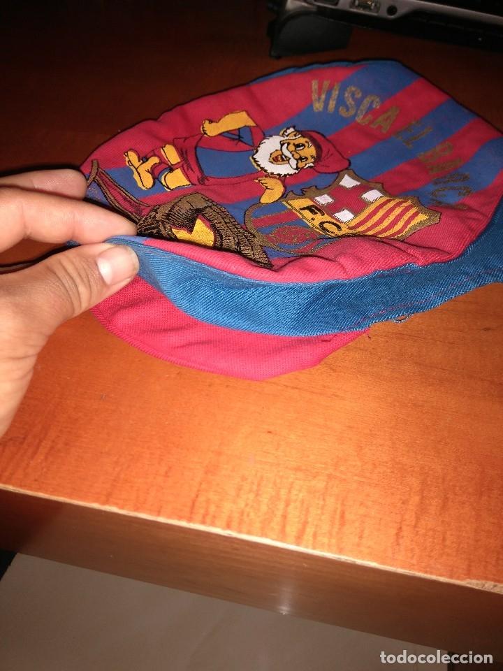 Coleccionismo deportivo: Antigua gorra boina del Barça - Foto 4 - 124687607