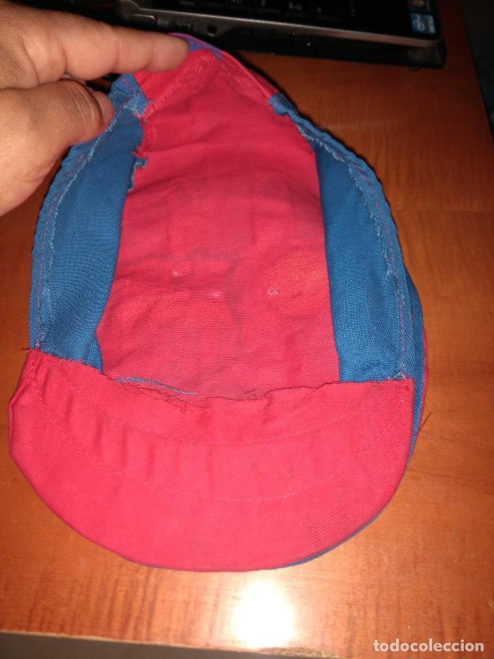 Coleccionismo deportivo: Antigua gorra boina del Barça - Foto 2 - 124687607