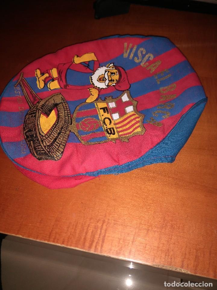 Coleccionismo deportivo: Antigua gorra boina del Barça - Foto 3 - 124687607