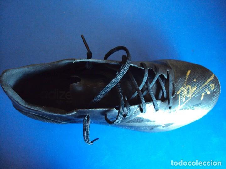 Coleccionismo deportivo: (F-180716)BOTAS UTILIZADAS POR LEO MESSI - F.C.BARCELONA - MATCH WORN - TESTER - FIRMADAS . - Foto 8 - 127746039