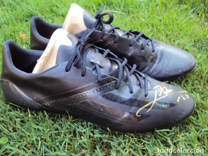 Coleccionismo deportivo: (F-180716)BOTAS UTILIZADAS POR LEO MESSI - F.C.BARCELONA - MATCH WORN - TESTER - FIRMADAS . - Foto 59 - 127746039