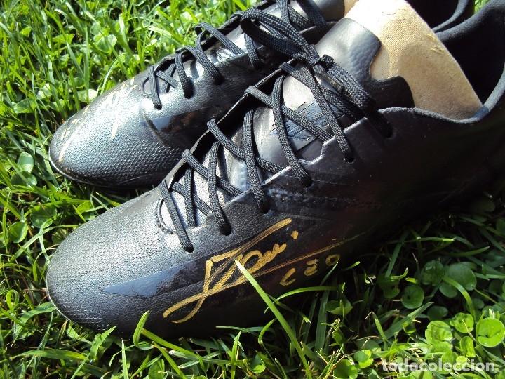 Coleccionismo deportivo: (F-180716)BOTAS UTILIZADAS POR LEO MESSI - F.C.BARCELONA - MATCH WORN - TESTER - FIRMADAS . - Foto 62 - 127746039