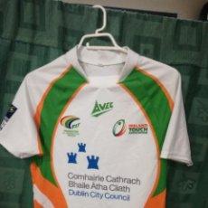 Coleccionismo deportivo: IRELAND IRLANDA TOUCH RUGBY S CAMISETA FUTBOL FOOTBALL SHIRT. Lote 128244395