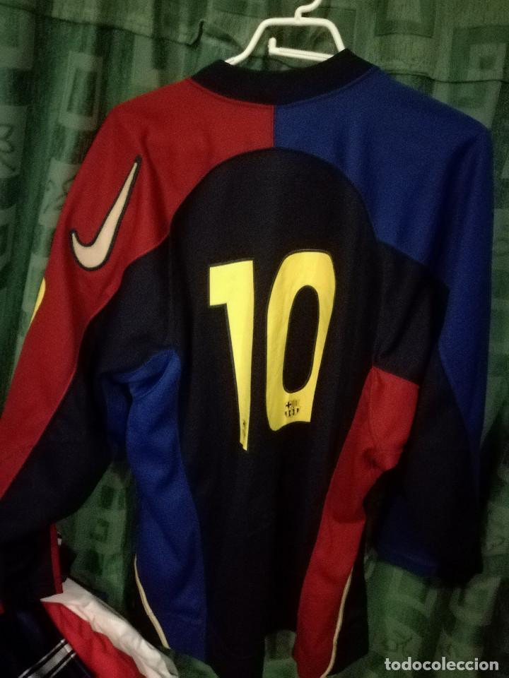 1892001ca92 Coleccionismo deportivo  HOCKEY HIELO FC BARCELONA ICE MATCH WORN SECTION XL  camiseta futbol football shirt