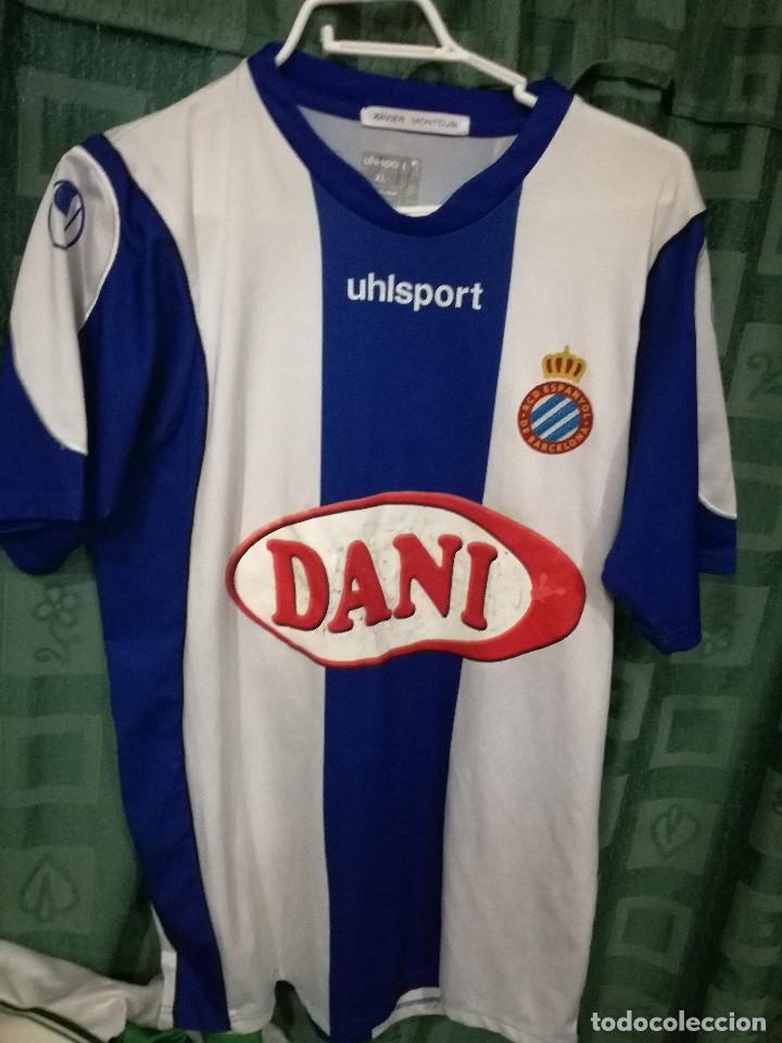 af2761ed7d1ef RCD ESPANYOL MATCH WORN XL CAMISETA FUTBOL FOOTBALL SHIRT (Coleccionismo  Deportivo - Material Deportivo -