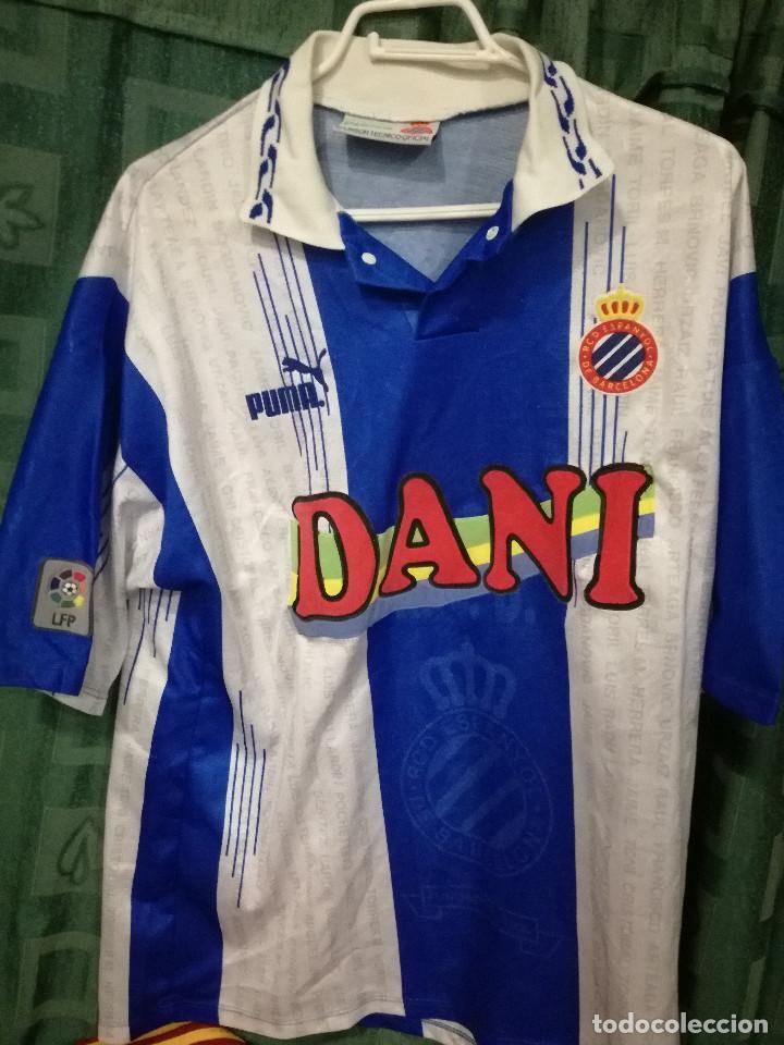 f0a893fb9fb70 RCD ESPANYOL XL CAMISETA FUTBOL FOOTBALL SHIRT (Coleccionismo Deportivo -  Material Deportivo - Fútbol)