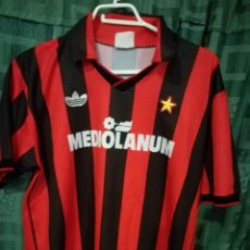 Coleccionismo deportivo: AC MILAN MEDIOLANUM 1988 XL CAMISETA FUTBOL FOOTBALL SHIRT. Lote 128503959