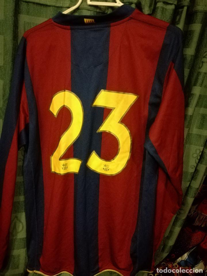 235565ee795 Coleccionismo deportivo  FC Barcelona MATCH WORN BARÇA B L CAMISETA FUTBOL  FOOTBALL SHIRT - Foto 2