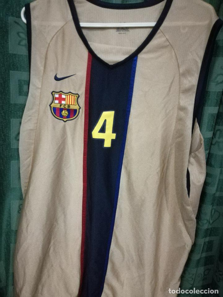best sneakers 6e3f8 0c587 FC BARCELONA BASKET BASQUET MATCH WORN XL CAMISETA FUTBOL FOOTBALL SHIRT