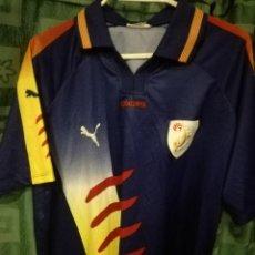 Coleccionismo deportivo: CATALUNYA L MATCH WORN CAMISETA FUTBOL FOOTBALL SHIRT. Lote 134074198