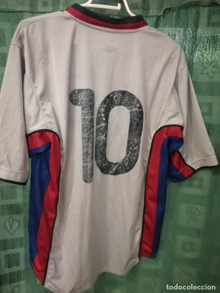 a595654c845 Coleccionismo deportivo  FC BARCELONA MATCH WORN B L CAMISETA FUTBOL  FOOTBALL SHIRT - Foto 2 -