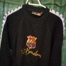 Coleccionismo deportivo: FC BARCELONA JERSEY KAPPA RARE M CAMISETA FUTBOL FOOTBALL SHIRT. Lote 128995815