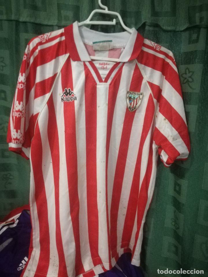 quality design 61ea1 b793a Athletic CLub Bilbao MATCH WORN XL CAMISETA FUTBOL FOOTBALL SHIRT