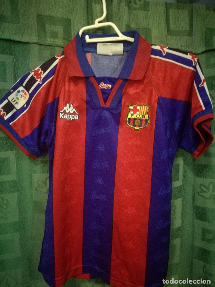RONALDO FC BARCELONA AGE 10 CAMISETA FUTBOL FOOTBALL SHIRT (Coleccionismo  Deportivo - Material Deportivo - 89d346125b9