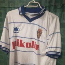 Coleccionismo deportivo: REAL ZARAGOZA L CAMISETA FUTBOL FOOTBALL SHIRT. Lote 129265451
