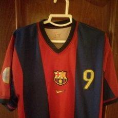 Coleccionismo deportivo: FC BARCELONA 1998 HANDBALL MATCH WORN HANDBOL XXL CAMISETA FUTBOL FOOTBALL SHIRT. Lote 129373363