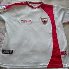 Coleccionismo deportivo: CAMISETA SEVILLA FC JOMA LINEA FIESTAS MAYORES DE SEVILLA. Lote 129965603