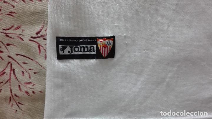 Coleccionismo deportivo: CAMISETA SEVILLA FC JOMA LINEA FIESTAS MAYORES DE SEVILLA - Foto 4 - 129965603