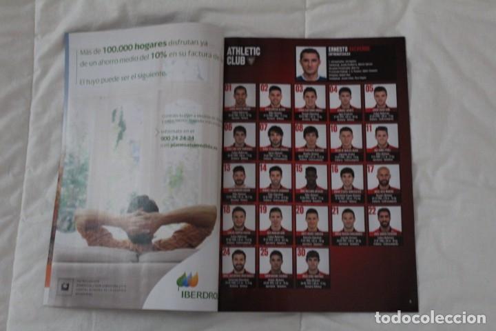 Coleccionismo deportivo: PROGRAMA OFICIAL PARTIDO DE FÚTBOL ATHLETIC BILBAO- RAYO VALLECANO. LIGA 2015-2016 - Foto 2 - 56122443