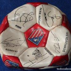 Coleccionismo deportivo: BALÓN FIRMADO - ATLETICO DE MADRID (1995). Lote 131354030