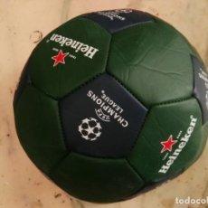 Coleccionismo deportivo: BALON FUTBOL HEINEKEN CHAMPIONS LEAGUE A ESTRENAR. Lote 131421770