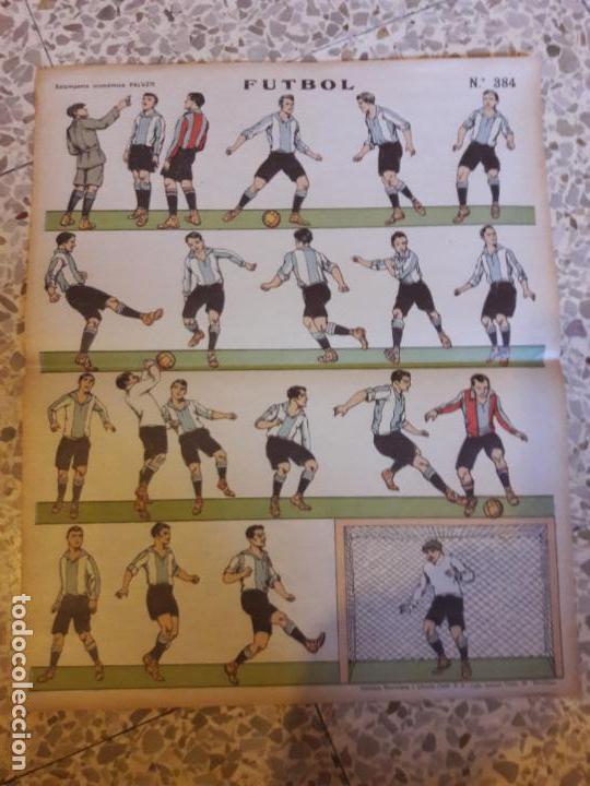 LAMINA O POSTER DEL RCD ESPANYOL ESPAÑOL AÑOS 20 PALUZIE (Coleccionismo Deportivo - Material Deportivo - Fútbol)