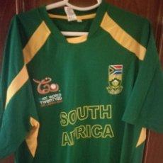 Collectionnisme sportif: SUDAFRICA CRICKET XXL SOUTH AFRICA CAMISETA FUTBOL FOOTBALL SHIRT TRIKOT . Lote 131699598
