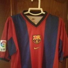 Collezionismo sportivo: FC BARCELONA S CAMISETA FUTBOL FOOTBALL SHIRT TRIKOT . Lote 131700442