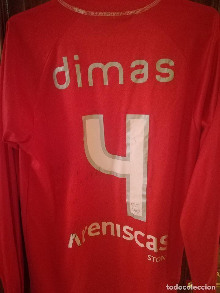 f22d7f6ffd9 Coleccionismo deportivo  CD NUMANCIA DIMAS SIGNED MATCH WORN VINTAGE FC  BARCELONA XL camiseta futbol football