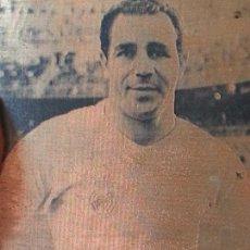 Coleccionismo deportivo: ANTIGUA PLACA PARA IMPRESION.. JUGADOR DEL REAL MADRID JOSEITO.. AÑOS 50. NATURAL DE ZAMORA. Lote 132106406