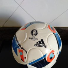 Coleccionismo deportivo: BALON ADIDAS OFICIAL EURO2016 FRANCE FRANCIA UEFA . BEAU JEU. SIN ESTRENAR.. Lote 132223858