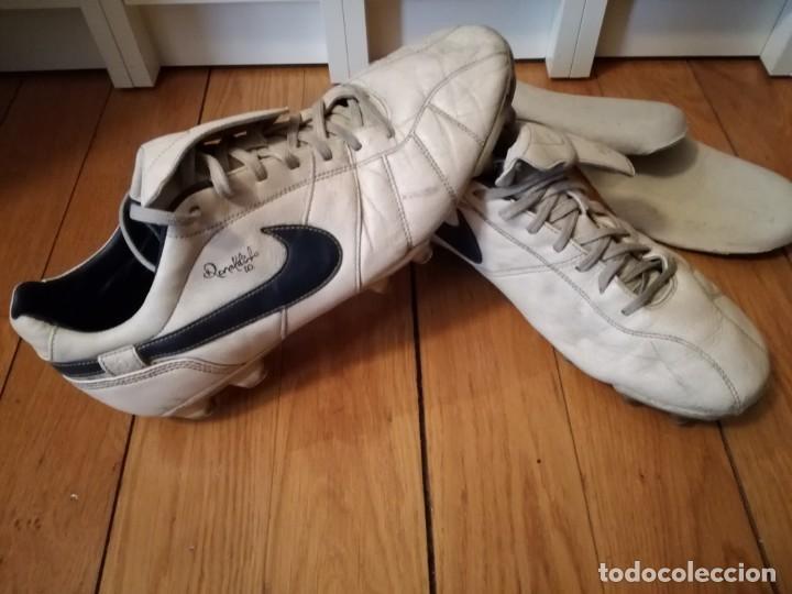 BOTAS FÚTBOL NIKE RONALDINHO Q10 (Coleccionismo Deportivo - Material Deportivo - Fútbol)