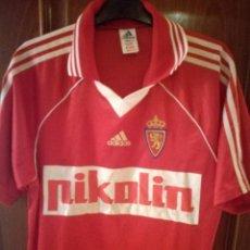 Coleccionismo deportivo: REAL ZARAGOZA M CAMISETA FUTBOL FOOTBALL SHIRT. Lote 133035830
