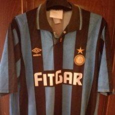 Coleccionismo deportivo: INTER MILAN CALCIO VERY RARE FITGAR XL CAMISETA FUTBOL FOOTBALL SHIRT. Lote 133037754
