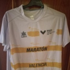 Collectionnisme sportif: ATLETISMO MARATHON VALENCIA L CAMISETA FUTBOL FOOTBALL SHIRT. Lote 133041550