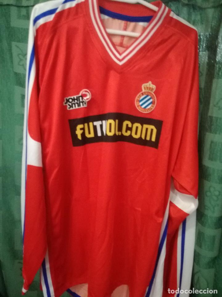 74da002b97dfc RCD ESPANYOL MATCH WORN SOLDEVILLA XL CAMISETA FUTBOL FOOTBALL SHIRT TRIKOT  (Coleccionismo Deportivo - Material
